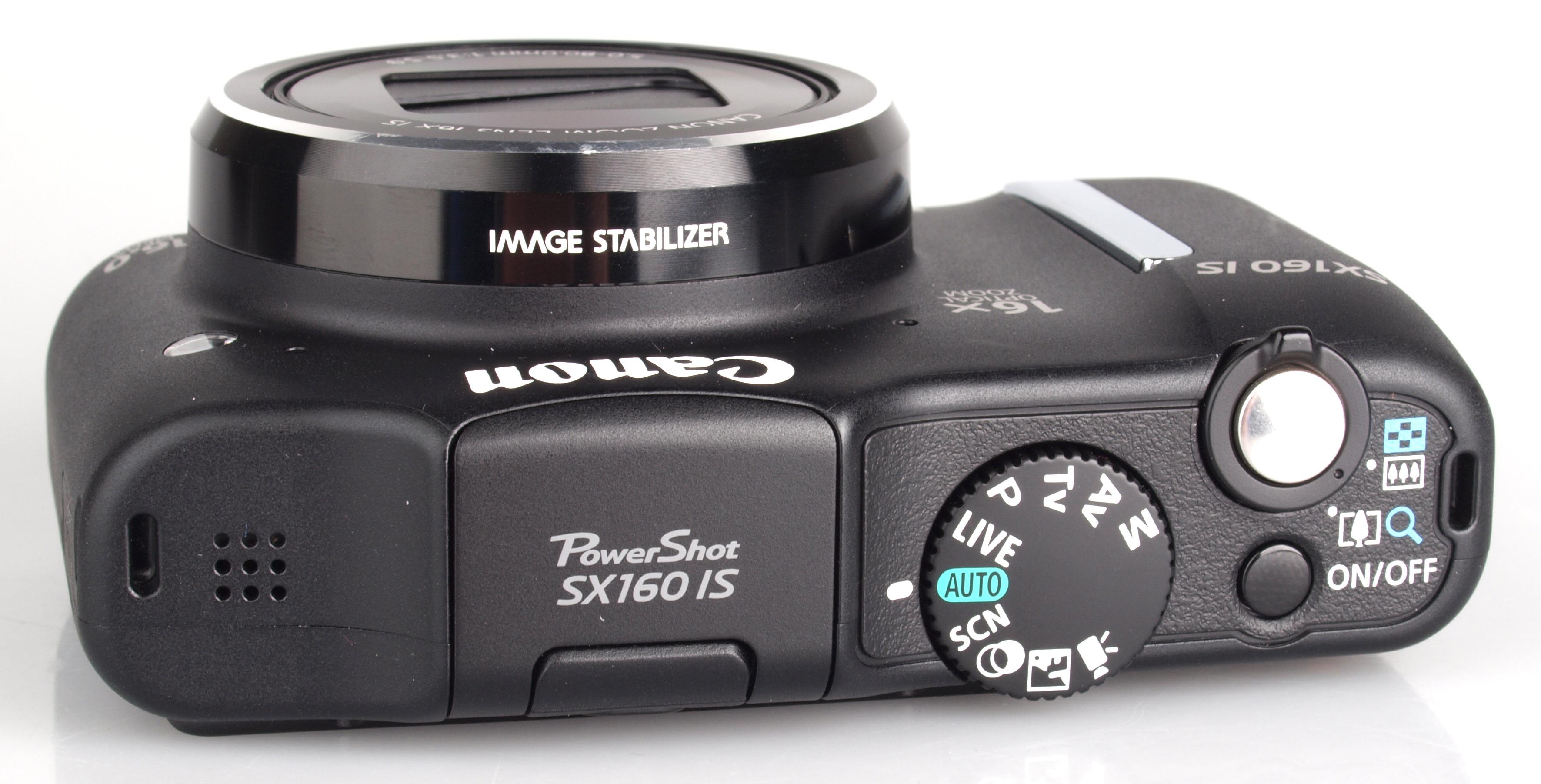 canon sx160 manual focus