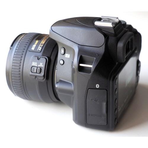 Medium Crop Of Nikon D3400 Lenses