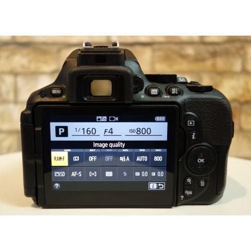 Medium Crop Of Nikon D5500 Body Only