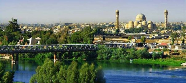 A view of Mosul in 2003.