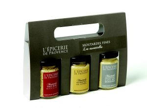 Coffret de moutardes les essentielles L'Epicerie de Provence