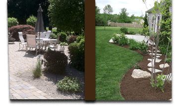 mulch-spreader-rock-installation-lafayette-green-care