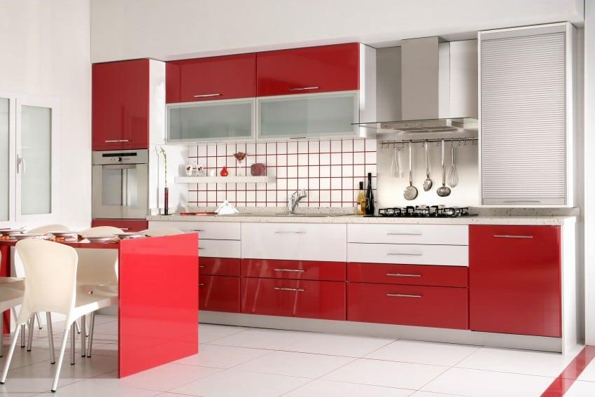 Read more 20 dark color kitchen cabinets design ideas