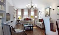 Living Rooms with Chandelier Ideas - (IMAGE GALLERY)