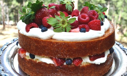 Lemon Glazed Southern Plantation Chantilly Cake