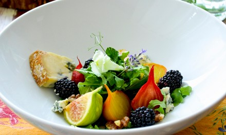 Summertime ~ Roasted Beet & Fig Salad with Stilton