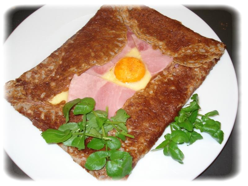 Galette bretonne epicuria la cuisine au quotidien - La cuisine au quotidien ...
