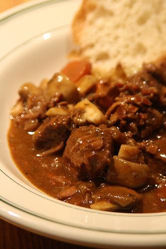 B uf bourguignon la cocotte minute epicuria la cuisine au quotidien - Boeuf bourguignon cocotte minute ...