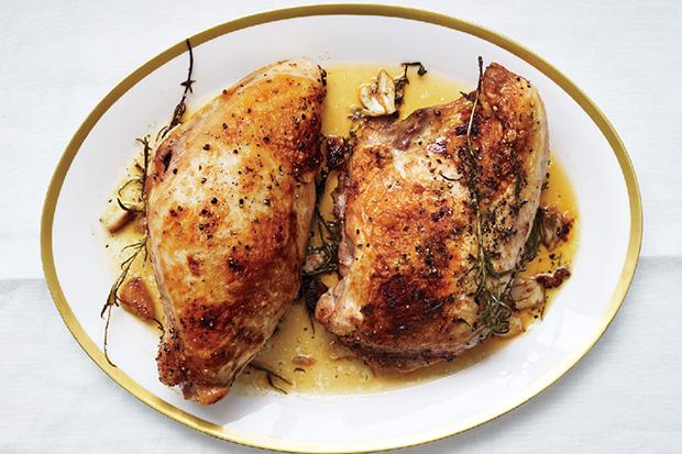 Butter-Roasted Turkey Breasts recipe