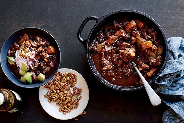 Beef and Squash Chili recipe