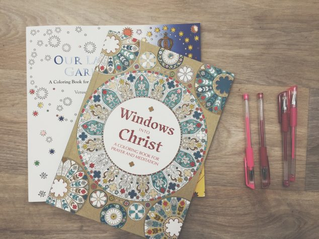 Catholic Coloring Books | Book Review