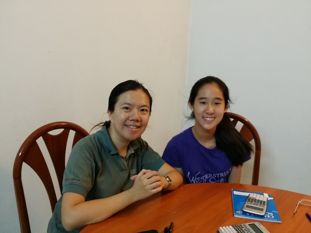 Esther Kua (Cempaka International School - CIE IGCSE M/J 2014 Add Maths A* 91%)