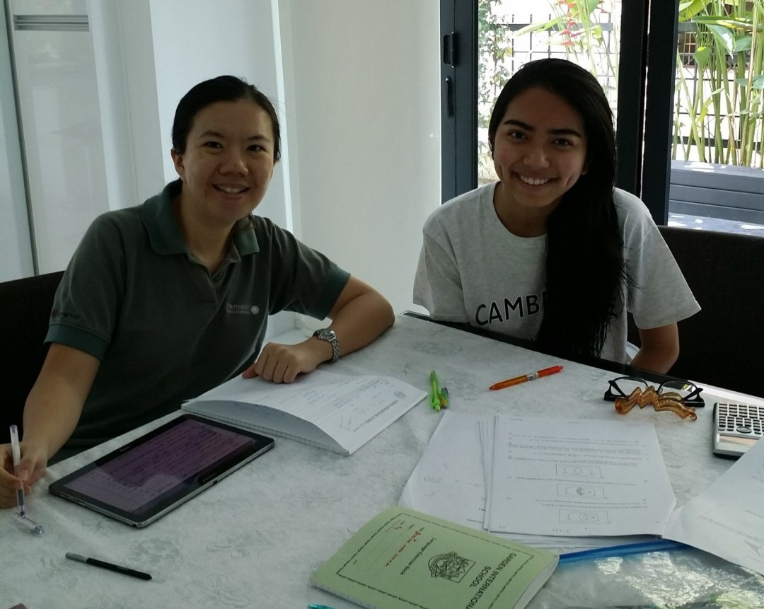 Sarah Saram (Garden International School - CIE IGCSE M/J 2014 Add Maths A* 95%)