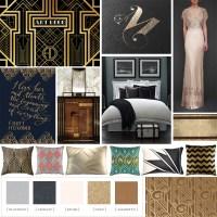Art Deco Interior Design Mood Board - Great Gatsby Room ...