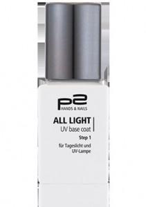 all light UV base coat