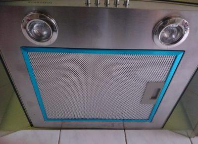 Klarstein Dunstabzugshaube GL60WS von unten
