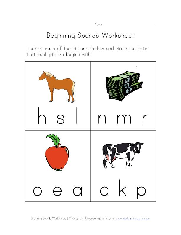 kindergarten worksheets Preschool worksheets Printables for kids