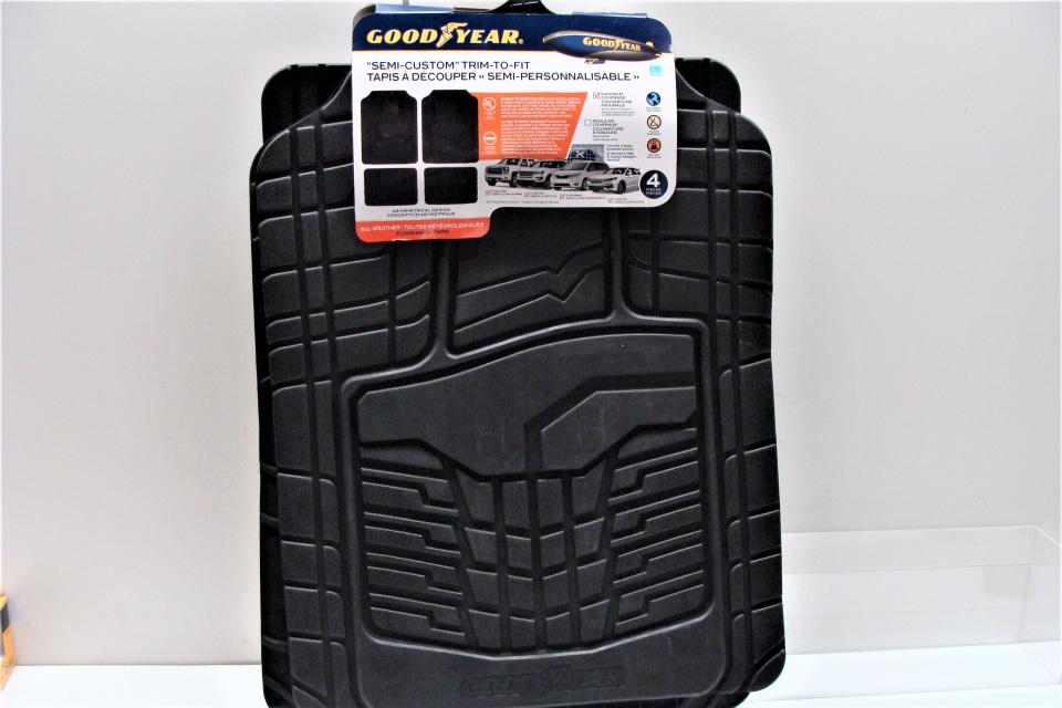 Floor Mats Goodyear Semi Custom Trim To Fit All Weather