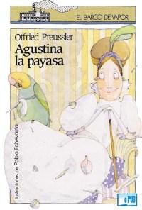Agustina la payasa - Otfried Preussler portada