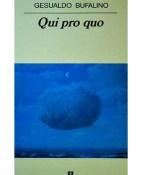 Qui Pro Quo - Gesualdo Bufalino portada