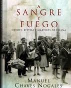 A sangre y fuego - Manuel Chaves Nogales portada