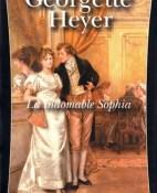 La indomable Sophia - Georgette Heyer portada
