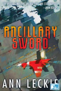 Ancillary Sword - Ann Leckie portada
