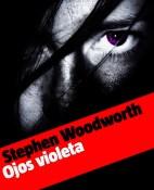 Ojos violeta - Stephen Woodworth portada