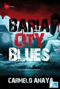 Baria city blues - Carmelo Anaya portada