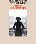 Los bienes de este mundo - Irene Nemirovsky portada