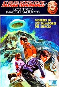 Misterio de los salvadores del espacio - M. V. Carey portada