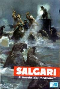 A bordo del Taymir - Emilio Salgari portada
