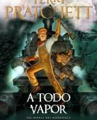 A todo vapor - Terry Pratchett portada