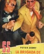 La brigada de los suicidas - Peter Debry portada