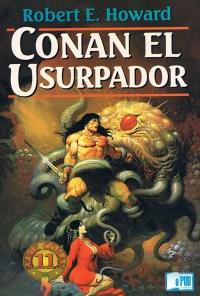 Conan el usurpador - Robert E. Howard y L. Sprague de Camp portada