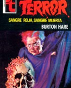 Sangre roja, sangre muerta - Burton Hare portada