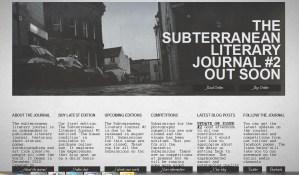 Subterranean Literary Journal