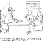 Humor for Writers - John Storywrite Marital Tiff