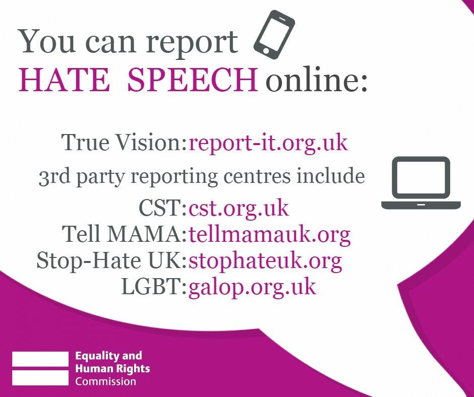 Online speech