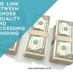The link between gender equality and accessing funding