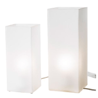 IKEA Grn Set of 2 Frosted Glass Table Lamp 000.955.88 ...