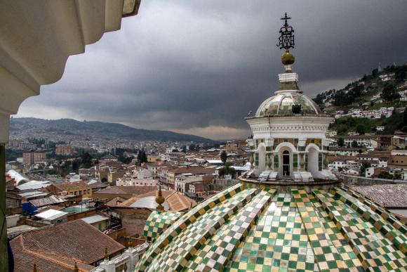 Quito vue d'en haut 1