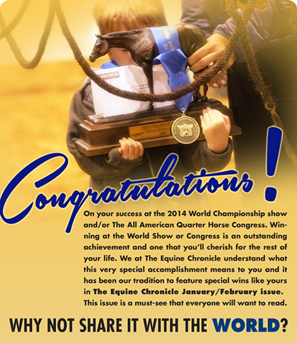 Congratulations on Your World/Congress Success! Share Your