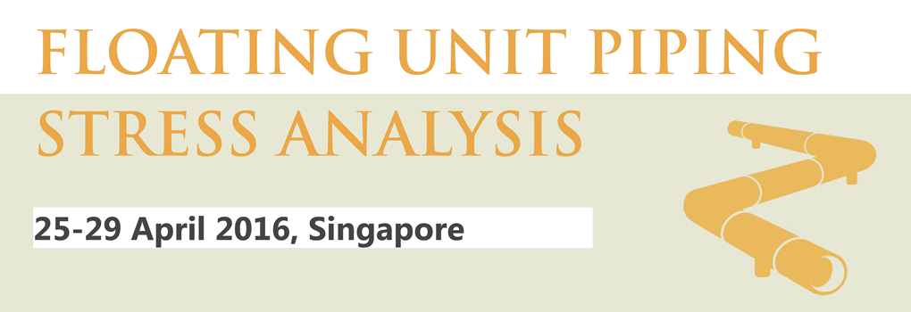 Floating Unit Piping Stress Analysis April 2016 SG
