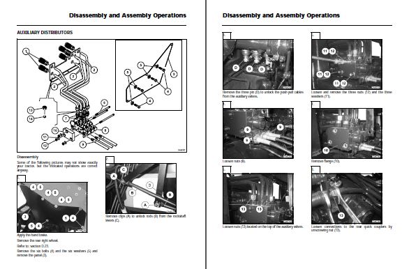 Massey Ferguson 9380 Delta Combine Repair Manual