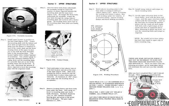 Drott 35, 40, 50 Series B Excavator Service Manual