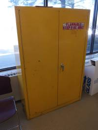 Used Flammable Storage Cabinet by EquipNet, Inc. | used ...