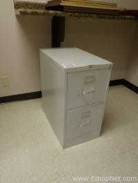 #509664 Hon 2 Drawer Filing Cabinet