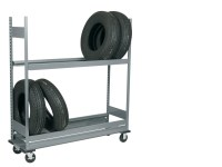 Mobile Tire Rack