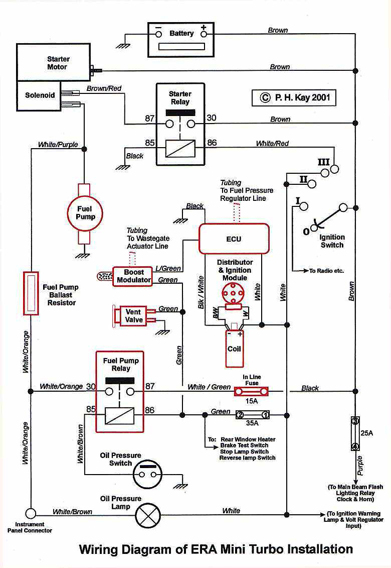 pressure switch wiring connection